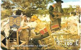 @+ Espagne - Escena Valenciana - Ref P118 - 6100ex - 03/1995 - España
