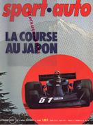 REVUE SPORT AUTO - VOITURE- LA COURSE AU JAPON- N° 179 - DECEMBRE 1976-MERCEDES C111-LOTUS-JARIER-WALTER WOLF-MUNARI - Auto