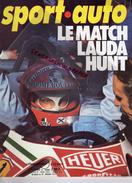 REVUE SPORT AUTO - VOITURE- LE MATCH LAUDA HUNT- N° 178- NOVEMBRE 1976- PORSCHE 935-CANADA-HOCKENHEIM-MALLORY PARK- - Auto