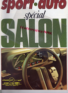 REVUE SPORT AUTO - VOITURE- SPECIAL SALON -OCTOBRE 1976- N° 177- BAGHEERA S-ALFASUD -TRIUMPH-FITTIPALDI-DIJON-MONZA - Auto