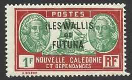 Wallis And Futuna, 1 F. 1940, Sc # 69, MNH - Wallis And Futuna