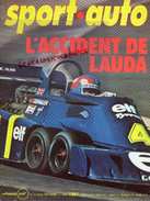 REVUE SPORT AUTO - VOITURE- SEPTEMBRE 1976- N° 176- ACCIDENT DE LAUDA- LAFFITTE-NURBURGRING-PRIX AUTRICHE-BOYER-ARNOUX - Auto