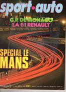 REVUE SPORT AUTO - VOITURE- JUIN 1976- N° 173- MONACO- F1 RENAULT- LE MANS JAGUAR- ESPAGNE-BELGIQUE-TYRELL P34-SALZBOURG - Auto