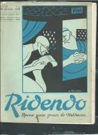 RiDenDo - Revue Gaie Pour Le Médecin - N°44  -   20   FEVRIER 1936 - Revue De 32 Pages  - Vif205 - Books, Magazines, Comics