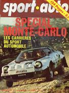 REVUE SPORT AUTO - VOITURE-  JANVIER 1976- N° 168- MONTE CARLO- CRITERIUM CEVENNES-RALLYE DU VAR-PORSCHE 924-FERRARI 312 - Auto