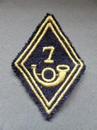ECUSSON TISSU DE 2 ème Classe Du 7 B C A  (Bataillon De Chasseurs Alpins) De Bourg Saint Maurice - Ecussons Tissu