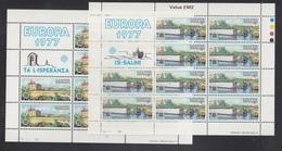 Europa Cept (1977) - Malta ** - 1977