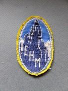 ECUSSON TISSU DE  EHM - L'ECOLE Militaire De HAUTE MONTAGNE) De CHAMONIX - Ecussons Tissu