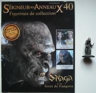 Figurine Le Seigneur Des Anneaux N°40 / SNAGA A LA FORET DE FANGORN - Lord Of The Rings