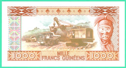 1000 Francs Guinéens - Guinée - N°.AQ1645953 - 1 Mars 1960 - Type 1985 - Neuf - - Guinée