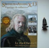 Figurine Le Seigneur Des Anneaux N°13 / LE ROI THEODEN AUX MONTAGNES BLANCHES - Lord Of The Rings