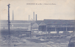 Homécourt - Usines De La Marine (loco Au Départ En Bas à Droite) -  Pas Circulé - Homecourt