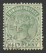 Trinidad, 1/2 P. 1883, Sc # 68, Mi # 30, Used, - Trinidad & Tobago (...-1961)