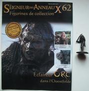 Figurine Le Seigneur Des Anneaux N°62 / ECLAIREUR ORC DANS L'OUESTFOLDE - Herr Der Ringe