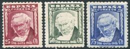 Ed 1005-7** 1946 Goya Serie Completa En Nuevo Sin Charnela. - 1931-50 Neufs