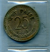 1973 25 Paise - India