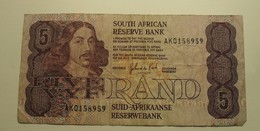 1989/90 ND - Afrique Du Sud - South Africa - FIVE RAND - AK0158959 - Sudafrica