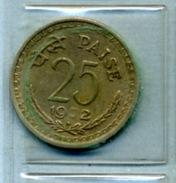 1972 25 Paise - India