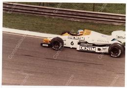 WILLIAMS FW09B - PILOTA KEKE' ROSBERG -  FOTO ORIGINALE DEL 1984 (FORMULA 1) - Automobile - F1