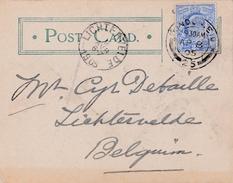 Post Card Met Nr  110 ( Yv ) Van London S.W. => Lichtervelde (  9 April 1905 )