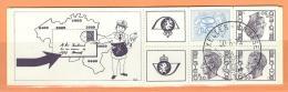 COB  B13  Oblitéré (Lot 637) - Carnets 1953-....