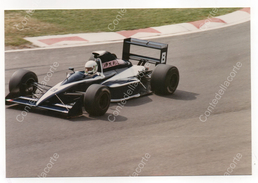 BRABHAM BT59 - PILOTA STEFANO MODENA -  FOTO ORIGINALE DEL 1990 (FORMULA 1) - Automobile - F1