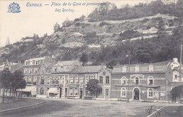 Esneux - Place De La Gare Et Promenade Des Roches (café) (Edit. Grand Bazar, Précurseur) - Esneux