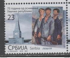 SERBIA ,2016, MNH, WWII, REPUBLIC OF UZIZE, RIFLES, 1v - Guerre Mondiale (Seconde)
