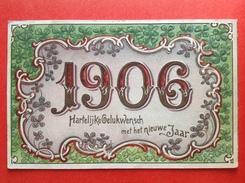 RELIEF - ANNEE - JAARTAL 1906 - Nieuwjaar