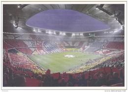 Postkaart - Uitgiftedatum 19 Augustus 2015 - 50 Jaar Voetbal International - Allianz Arena - F.C. Bayern - Ongebruikt - Stadions