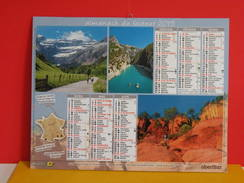 Calendrier Oberthur > Paysages De France Sud & Sud Ouest - Almanach Facteur 2015 Comme Neuf - Calendriers
