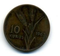 1967 10 KURUS - Turkey