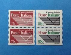 1995 ITALIA FRANCOBOLLI NUOVI STAMPS NEW MNH** - ENTE PUBBLICO ECONOMICO POSTE - COPPIA ND DA LIBRETTO - 6. 1946-.. Repubblica
