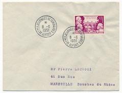 FRANCE => Env Scotem - 12F IXems Journées Vétérinaires De Maisons Alfort - Premier Jour 8/06/1951 - FDC