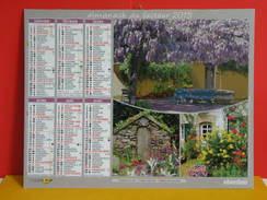 Calendrier Oberthur > Maison De Vacances - Almanach Facteur 2015 Comme Neuf - Calendriers