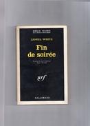 """SERIE  NOIRE   N°  1169  --  LIONEL  WHITE    --  """"""""  Fin  De  Soirée  """"""""  --  1967  --   BEG - Série Noire"""