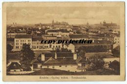 KRAKOW Ogolny Widok, Totalansicht, Wydawnictwo Salonu Malarzy Polskich W Krakowie, Alte Postkarte 1913 - Polen