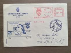 Busta Comune Di Bazzano (BO) Con EMA Viaggiata E Annullo Francese A. Gordini Parigi 23-6-1999 - Grand Prix / F1