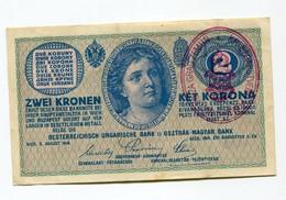 "Serbie Serbia Austria Hungary """" ZA  GRAD  ZEMUN """" Ovp 2 Korona / Kronen 1914 - Serbie"