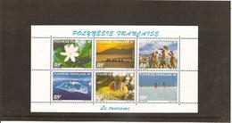 POLYNESIE 1997, Tourisme, Neufs Sans Charnière N° 536 à 547**, 2 Feuillets De 6 Timbres. - Neufs