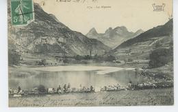 LAC ALPESTRE  (militaires Chasseurs Alpins - Carte écrite à BRIDES LES BAINS - Edit. REYNAUD à CHAMBERY ) - France