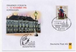 - DEUTSCHLAND - FDC KOPENHAGEN 7.11.1996 - 400 P. Empereur Frédéric II - - [7] Federal Republic
