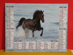 Calendrier Oberthur > Étalon Azteca USA, Troupeau De Paso Fino - Almanach Facteur 2015 Comme Neuf - Calendriers