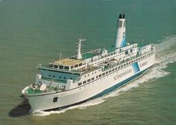 "Scandinavian Seaways M.S. ""Dana Anglia"" , 70-90s - Ferries"