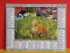 Calendrier Oberthur > Chats Au Jardin - Almanach Facteur 2015 Comme Neuf - Calendriers