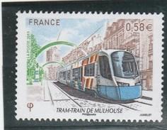 FRANCE 2011 TRAM TRAIN DE MULHOUSE NEUF YT 4530 - Francia