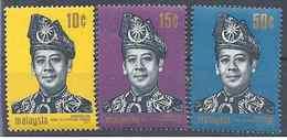 1971 MALAISIE 79-81 ** Intronisation Sultan - Malaysia (1964-...)