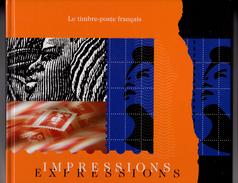 Livre Impressions Expressions Contenant Le Bloc Kandinsky - Blocks & Kleinbögen