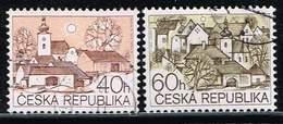 Tschechische Republik 1995, Michel# 71 - 72 O - Tschechische Republik