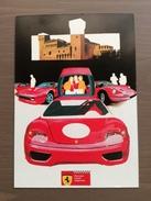 Cartolina Ferrari Club Vignola Con Targhetta Vignola...è Tempo Di Ciliegie 15-5-2000 - Grand Prix / F1
